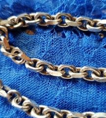 Srebrna masivna verižica,srebro 925