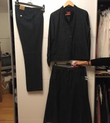 Nov kostim (hlače, krilo, jakna) št. 40/M