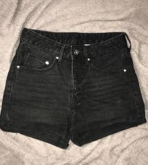 NOVE high waisted / črne H&M jeans