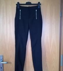 Črne hlače high waist
