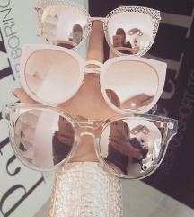 Rose Gold Sončna Očala