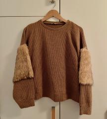 Zara zimski pulover
