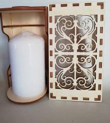 Dekoracija s svečko