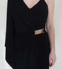 Črna večerna obleka