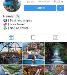 Prodam Instagram profil 67000 sledilcev