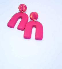 Dizajnerski uhani, ročna izdelava