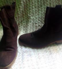 modni kavno rjavi škornji,39,