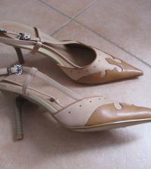 Salonarji sandali bež