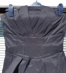 AMISU št. 38 črna obleka kot nova