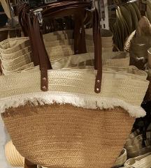 Pletena poletna torbica