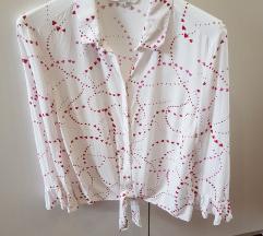 Nova srajca / bluza s srčki