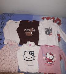 110/116 otroške oblačila majice jakna jope