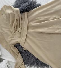 Peplum obleka