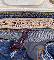Zara jeans hlace 34