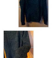 Cozy temno moder pulover