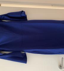 Modra elegantna obleka