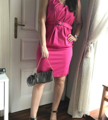 REZ. Borgonovo roza obleka- mpc 160 evrov