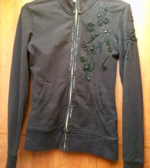 Črna jopica majica