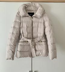 Zimska bež jakna Zara XS