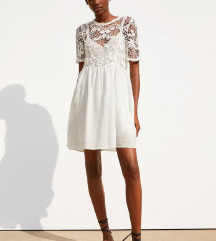 ZARA CROCHET COMBINED DRESS