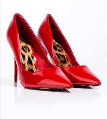 Rdeče petke z leopard vzorcem