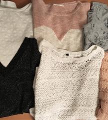 Komplet 6 puloverjev