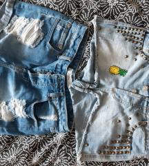 Jeans kratke hlače ripped