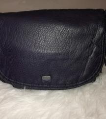 NOVA usnjena torbica ARA temno modra