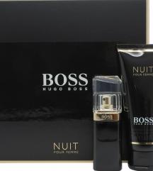 Parfum boss nuit (darilni set)