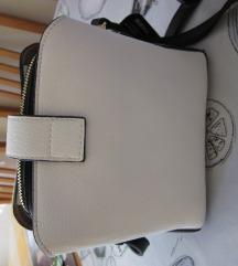 torbica nova belo črna
