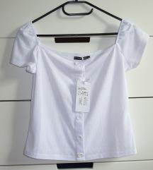 NOVA bela majica, vel. S