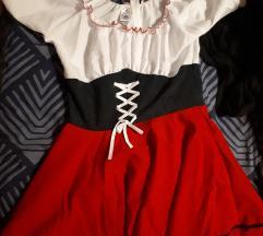 Kostum rdeča kapica