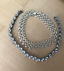 Ogrlica/verižica+uhani zastonj
