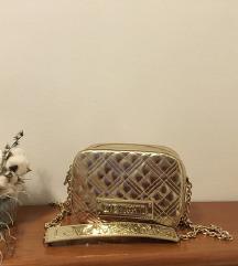 Moschino zlata torbica