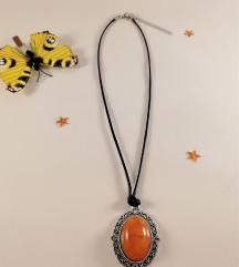 Ogrlica Oranžna