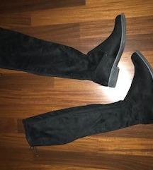Prodam škornje čez koleno - kot novi