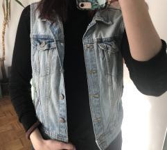 h&m jeans brezrokavnik