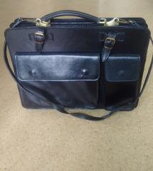 Večja usnjena torbica
