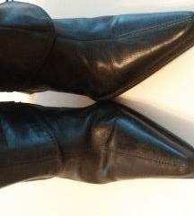 Pierre Cardin, usnjeni škornji 39