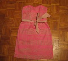 H&M neon obleka 36