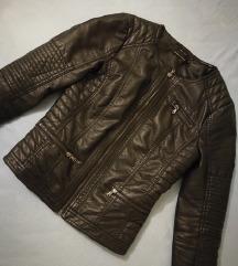 Usnjena jakna Only