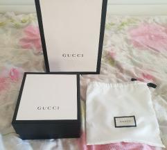 Gucci dust bag, škatla ter vrečka