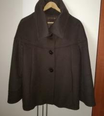 Ženski plašč jakna ZARA  XL rjav