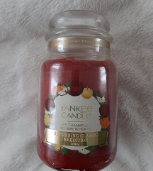 Yankee Candle Be Thankful 2000's LIMITED REEDITION
