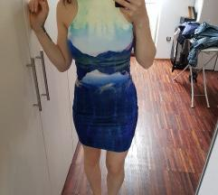 Obleka s potiskom H&M