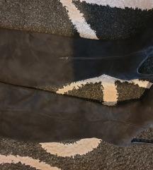 Ženski črni škornji 39