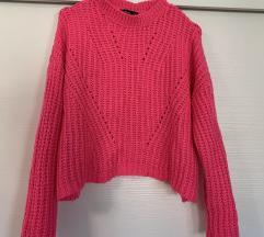 Hot pink pulover