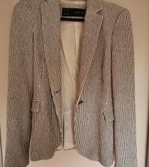 Zara mornarski suknjič, blazer
