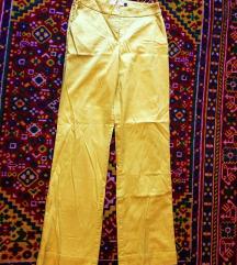 Živo rumene neon hlače