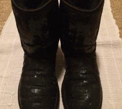 Črni škornji z bleščicami ORIGINAL UGG